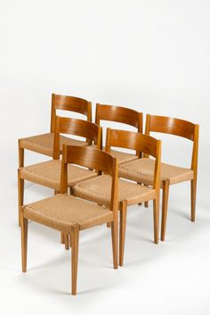 Pia Chairs from Poul Cadovius