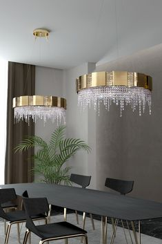 The Italian Designer Gold Plated Round Chandelier With Crystal Drops, classic inspiration meets contemporary luxury. Adding the utmost in striking glamour, rich in elegance… the epitome of outstanding style. Add some SPARKLE this Bank Holiday! Round Chandelier, Luxury Chandelier, Contemporary Chandelier, Luxury Lighting, Contemporary Interior, Unique Lighting, Chandeliers, Luxury Homes Interior, Luxury Home Decor