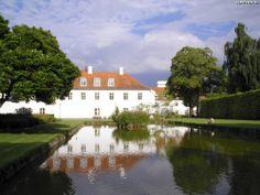 Odense Slot, som ligger i Kongens Have i Odense.