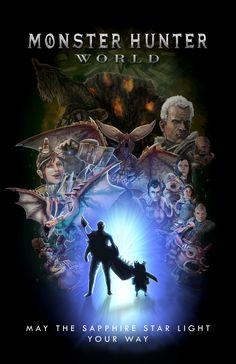 Artstation Fanart Poster 3 Brandon Perez Monster Hunter World Monster Hunter Monster Hunter Art