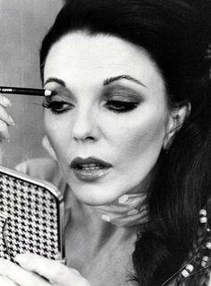 Joan Collins Is The OG YouTube Beauty Guru+#refinery29