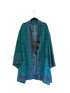 A personal favourite from my Etsy shop https://www.etsy.com/listing/223683701/silk-kimono-jacket-oversized-cocoon