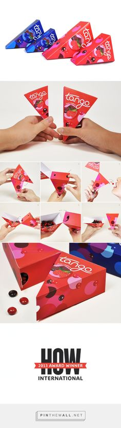 Cool Tango award winning (movie theater candy #packaging) on #Behance curated by Packaging Diva PD created via https://www.behance.net/gallery/11923925/Tango-%28Movie-Theater-Candy-Packaging%29