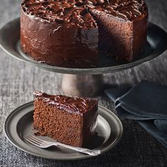 Haigh's Dark Chocolate Mudcake We think this is the best Dark Chocolate Mud Cake you will ever taste! Makes the ideal chocolate birthday cake using Haigh's 70% Cocoa Pastilles and our Dark Couverture for the ganache.
