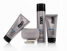 Tem para os meninos também heim!!!! Loção pós barba, espuma para barbear, sabonete próprio para a pele do rosto e uma loção que contém fator 25, além de melhorar a pele te protege do sol!!!