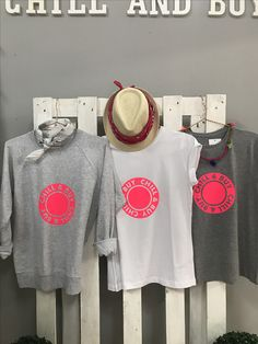Camisetas logo flúor