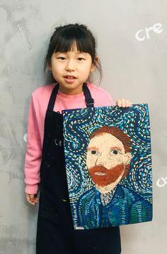 빈 센트 반 고흐[킨더 (초등) 수업 / 시흥시 정왕동 배곧 미술학원 - 창의미술 크리아트 ] : 네이버 블로그 Creative Arts And Crafts, Creative Kids, Kids Art Class, Art For Kids, Primary School Art, Van Gogh Art, Student Drawing, School Art Projects, Toddler Art