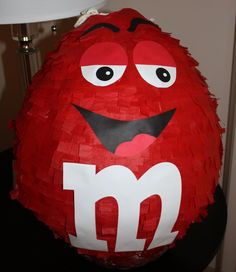 M&M Candy Pinata Reserved for carriscrawford Birthday Pinata, 3rd Birthday, Birthday Parties, M M Candy, Candy Theme, Candyland, Diy Party, Party Ideas, Birthday Decorations