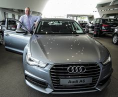Audi stock model as pictured with Audi General Manager in Audi Waterford, Ireland. Waterford Ireland, Audi A6, Showroom, Car, Model, Pictures, Automobile, Photos