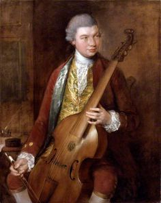 Karl Friedrich Abel. 1765, by Thomas Gainsborough. Karl Friedrich Abel (1723-1787), Composer and concert impresario. Sitter in 5 portraits. One of the last of the great viola da gamba virtuosi, Abel arrived in London in 1759 and was famous for the subscription concerts which he organised with Johann Christian Bach at the Hanover Square Rooms. Abel and Gainsborough were close friends who shared a passion for the viola da gamba and a love of life. NPG
