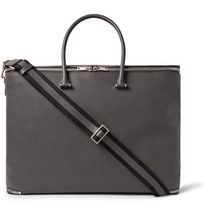 This bag has been masterfully handmade in Solomeo, the small Perugian village where Mr <a href='http://www.mrporter.com/mens/Designers/Brunello_Cucinelli'>Brunello Cucinelli</a> both works and resides with his family. 'I think that luxury craft somehow belongs to the Italian spirit - it's present in our culture, craftsmanship, and our way of life,' he tells <i>The Journal</i>. Burnished for a richer depth of c...