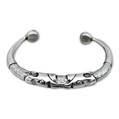 Celtic Torc Bangle with dragons