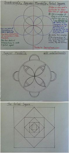 how to draw sacred geometry pdf