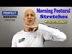 Morning Exercise Stretches to Improve Your Posture with Dr. Posture Stretches, Good Posture, Improve Posture, Neck And Shoulder Exercises, Neck Exercises, One Song Workouts, Cheer Workouts, Mini Workouts, Workout Songs