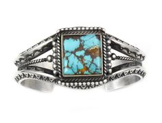 Pilot Mountain Turquoise Bracelet    by Herman Smith