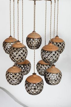 Tokenlights and Their Contemporary Light Fixtures Get inspired by these amazing designs! Ceramics Projects, Clay Projects, Clay Crafts, Ceramic Lantern, Ceramic Light, Ceramic Lamps, Raku Pottery, Contemporary Light Fixtures, Sculptures Céramiques