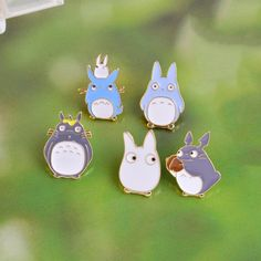 My Neighbor Totoro 5pcs/set Lovely Pin Brooch