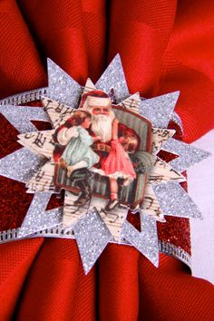 Christmas Snowflake Napkin Rings