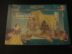 Snow White's House, 96 Piece 3D Jigsaw Puzzle Made by Wrebbit Puzz-3D Wrebbit - Yep! Ordering this one for Kasondras room when I get done with Sleeping Beautys