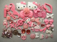 51 Mix Pink/ White Kawaii Bling Bling Flat Back Resin Cabochon Deco Kit Cell Phone by Kawaii Resin Cabochon, http://www.amazon.com/dp/B00ATIFZJ4/ref=cm_sw_r_pi_dp_BQrPrb01W2H0F
