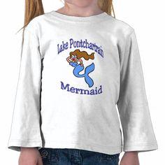 Lake Pontchartrain Mermaid T-shirt