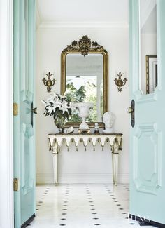 ornate entryway