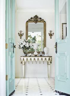 ornate entryway