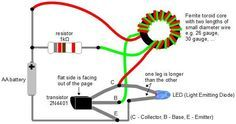 Picture of Make A Joule Thief Coil Without A Ferrite Toroid