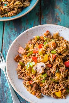 Syn free dirty fried rice combination of fried rice and dirty syn free cajun dirty rice slimming world 1 forumfinder Choice Image