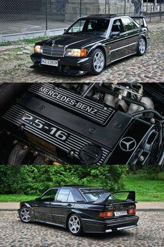 Mercedes 190 Evo, Mercedes Benz 190e, Mercedes Benz Cars, Pirelli Tires, Sports Car Wallpaper, Mercedez Benz, Top Cars, Retro Cars, Motor Car