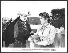Western Carole Mathews Zachary Scott LOT 4 ORIGINAL 1950s Photo Ruby Hills