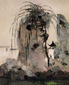 Wu Guanzhong(吴 冠中Chinese, 1919-2010) via