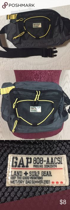 GAP Land & Surf Wet Dry Bag Looks new and never used. GAP Land & Surf Gear/Fanny Pack. GAP Bags Backpacks