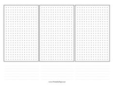 Printable Paper Grids Graphs Octagon Hexagon Music