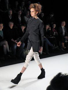 Adelina Ivan - Romanian Designers Fall/Winter 2013/2014 - Mercedes Benz Fashion Week - http://olschis-world.de/  #AdelinaIvan #Womenswear #Fashion