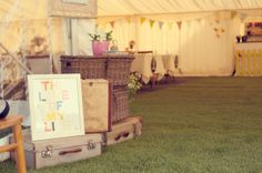 Fish & Chips, Sunshine and Ice Cream ~ A Vintage Inspired Garden Fete Wedding... Photography by http://elizaclaire.com