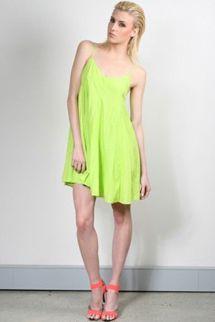 Purple Ginger Cote D'Azur Trapeze Dress