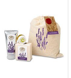 80 Acres Lavender Muslin Gift Set
