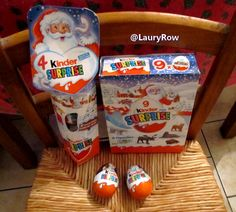mes chocos kinder eu par maman à noel :p  @LauryRow  https://www.facebook.com/pages/Disneycollecbell/603653689716325