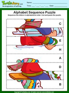 Winter Puzzles Learning Time, Worksheets, Alphabet, Puzzle, Sport, Winter Olympics, Olympic Games, Puzzles, Children