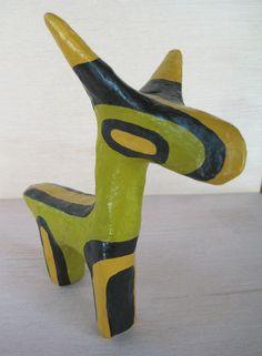 paper mache animal by mumblion, via Flickr