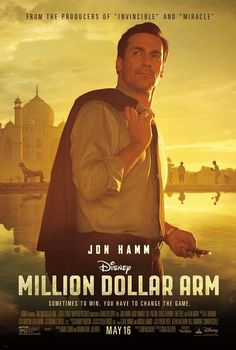 Million dollar arm movie was interesting and enjoyable.  Good matinee to see.