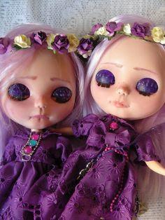 BLYTHE & ART: BASAAK DOLLS -BLYTHE- SARITA AND NATALIA