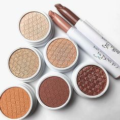 Nudes & Neutrals 4 Ever  ColourPop always comes out with fun shades but the neutral Super Shock Shadows + Lippie Stix are always the ones I end up reaching for!