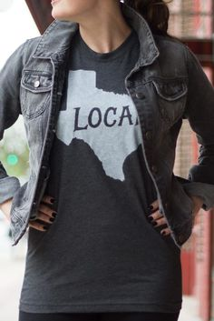 Ladies, how will you accessorize with your Texas local t-shirt? #bourbonandboots