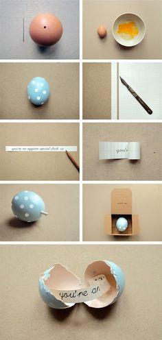 DIY Easter Egg Fortune