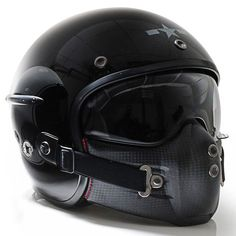 Harisson Corsair helmet - gloss black