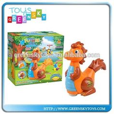 2014 New Product kids Cartoon Animals Electric Horse Toys