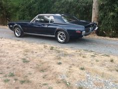 Rare Wellington Blue 1968 Mercury Cougar S code 390 GT 68k orig miles marti repo