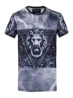 Sinstar Clothing T-Shirt Lion In Black | Serene Order